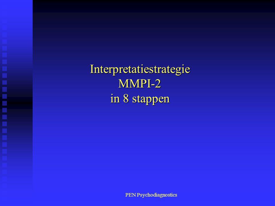 PEN Psychodiagnostics Interpretatiestrategie MMPI-2 in 8 stappen