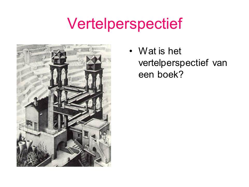 Vertelperspectief Wat is het vertelperspectief van een boek?