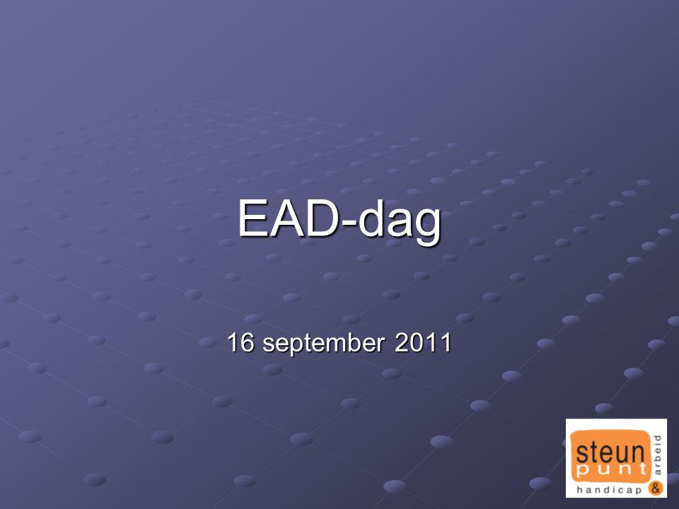 EAD-dag 16 september 2011