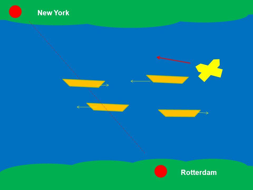 Blijf op koers New York Rotterdam