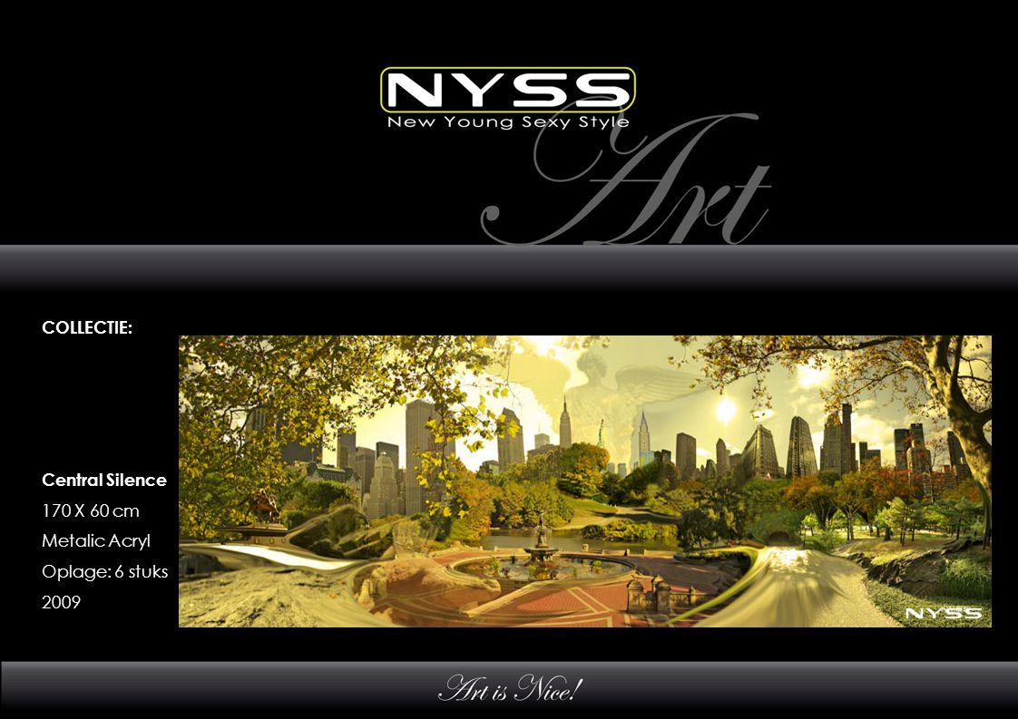 COLLECTIE: Luxury of Freedom 100 X 125 cm Metalic Acryl Oplage: 6 stuks 2009