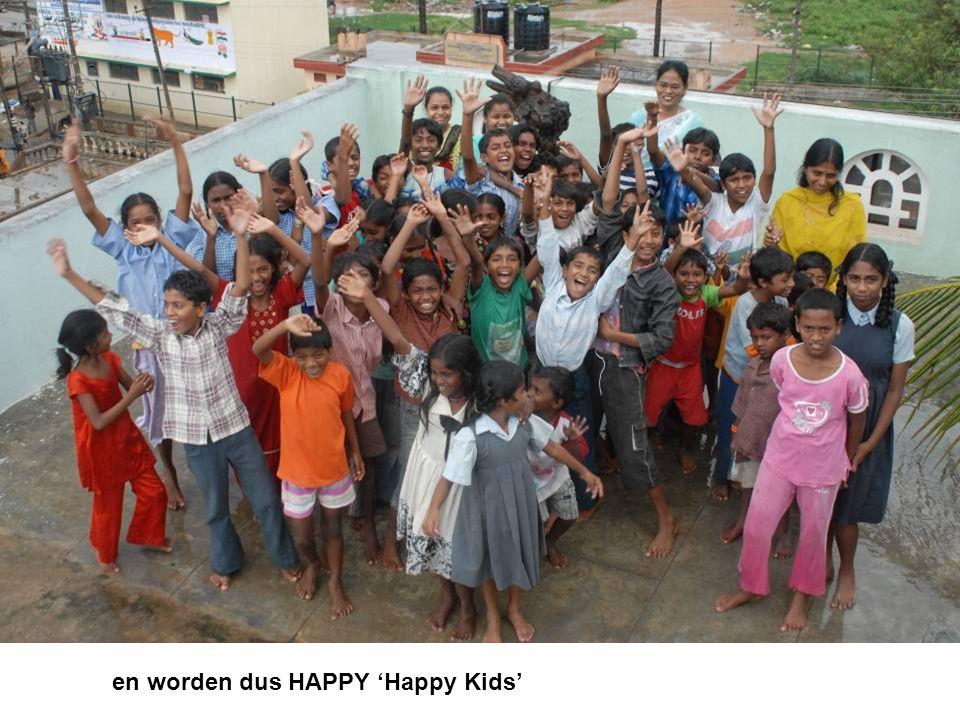 en worden dus HAPPY 'Happy Kids'
