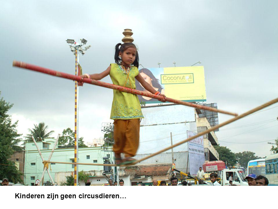 Kinderen zijn geen circusdieren…