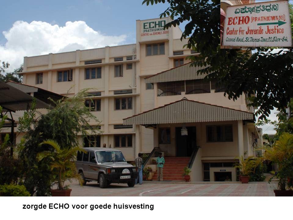 zorgde ECHO voor goede huisvesting