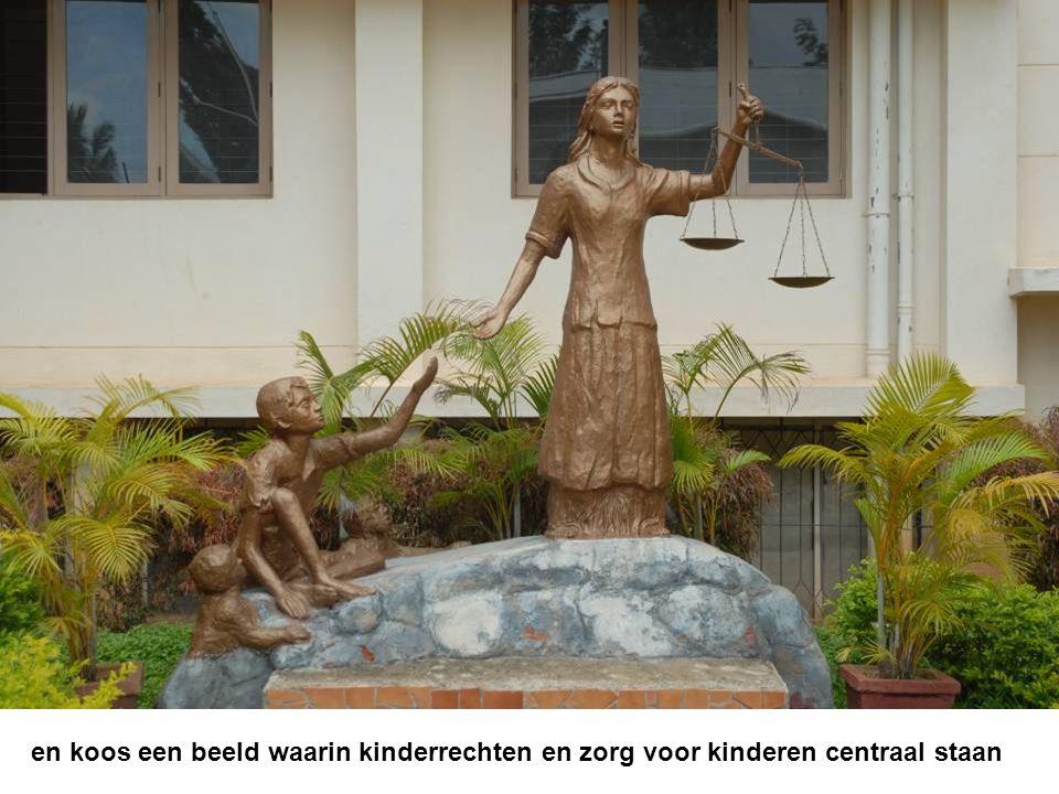 en koos een beeld waarin kinderrechten en zorg voor kinderen centraal staan
