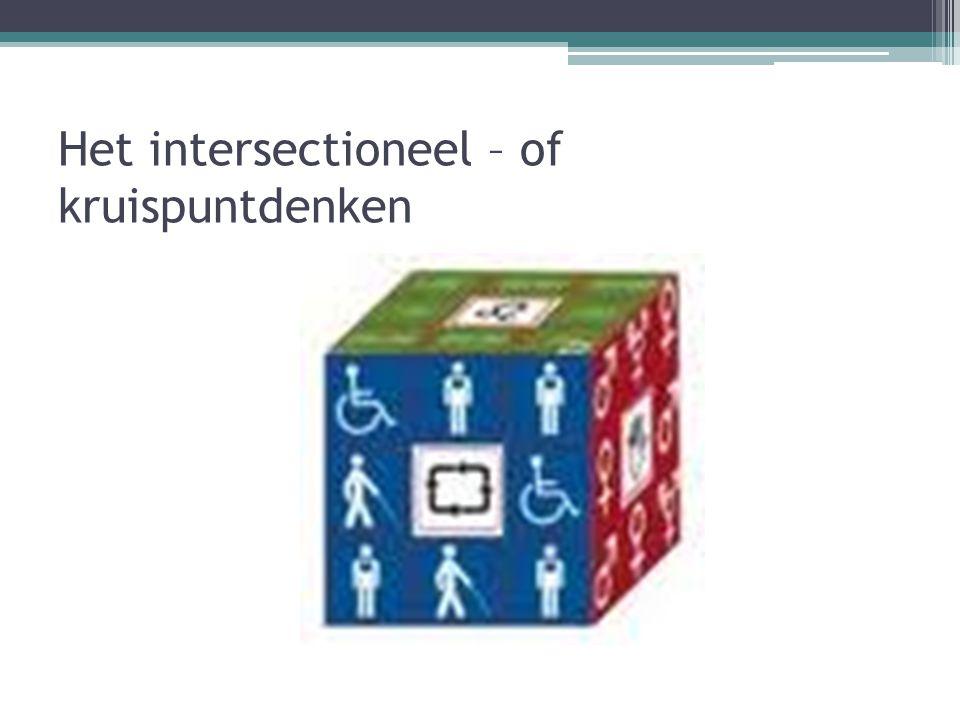 Het intersectioneel – of kruispuntdenken