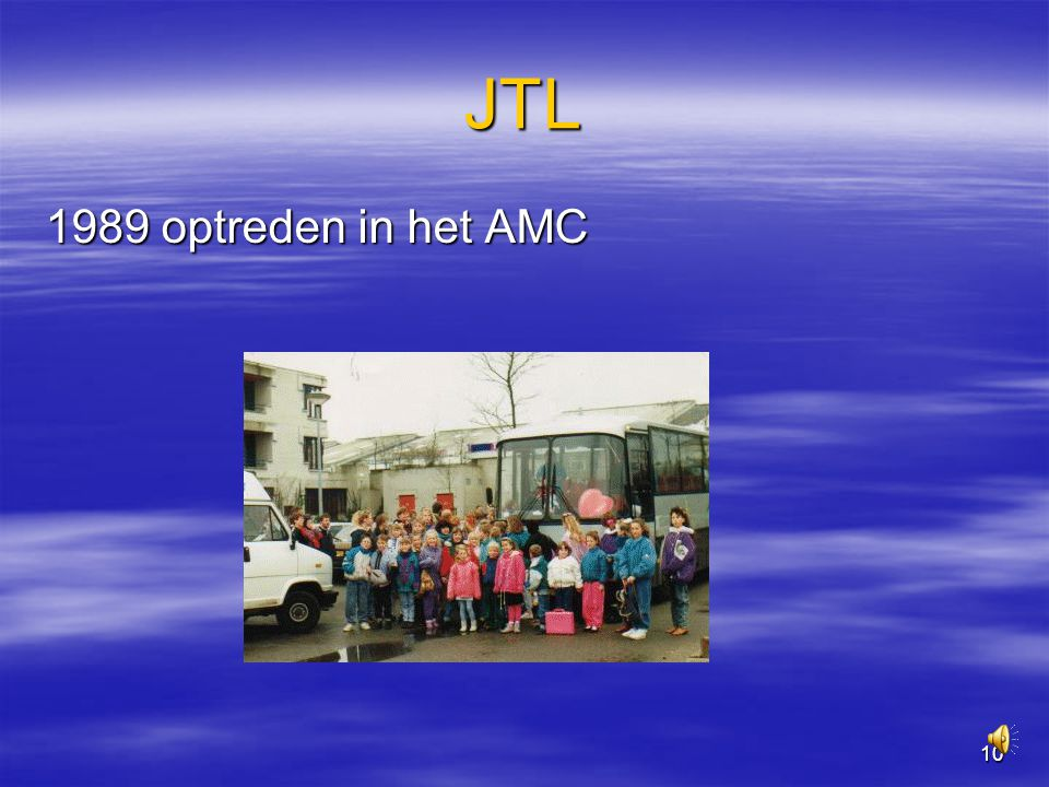 10 JTL 1989 optreden in het AMC