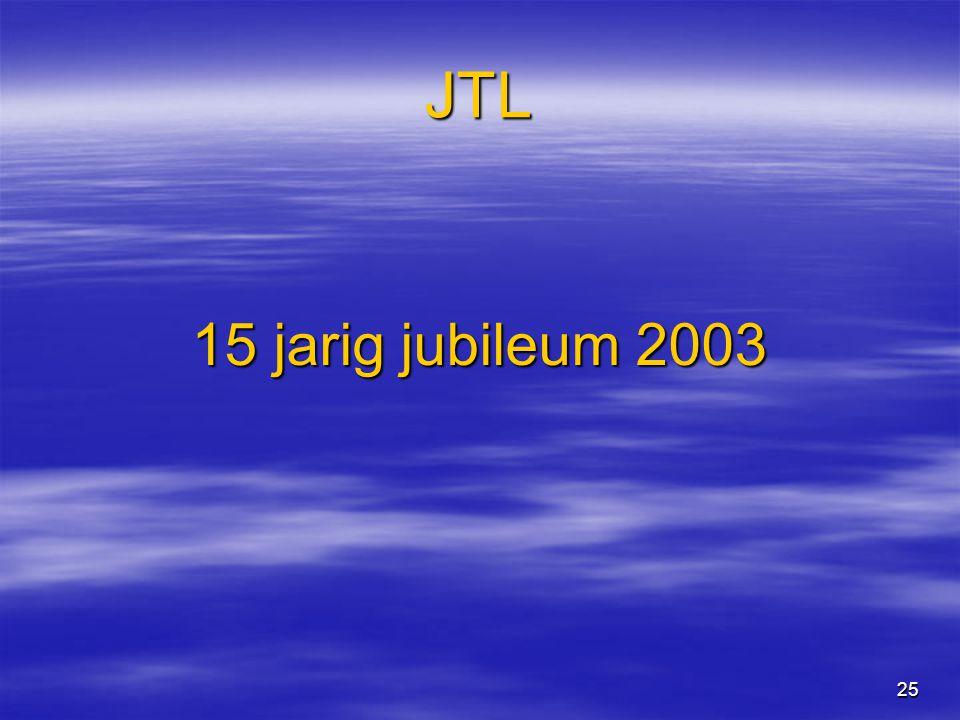 25 JTL 15 jarig jubileum 2003
