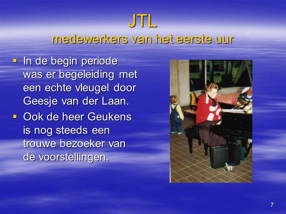 8 JTL Al snel werden er ook voorstellingen in het buitenland gegeven.