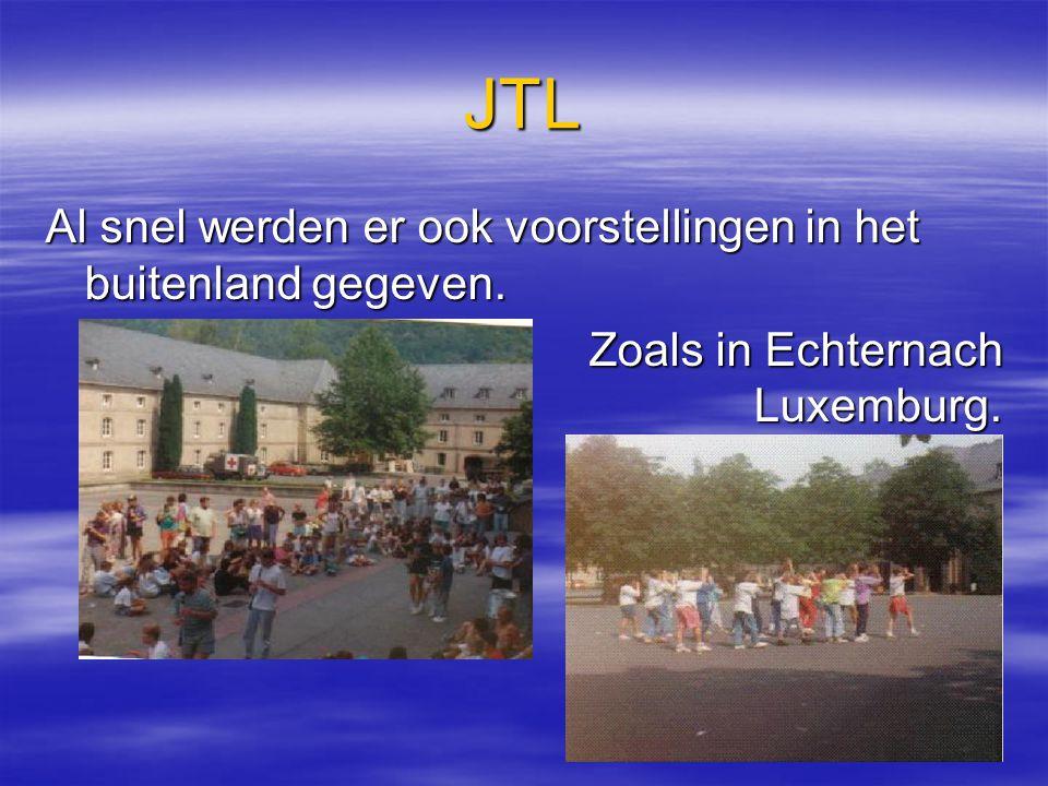 39 JTL VVVVoor meer informatie: WWW.JTL-THEATER.NL >> Ma, woe, do en za tussen 09.00 en 13.00 uur.