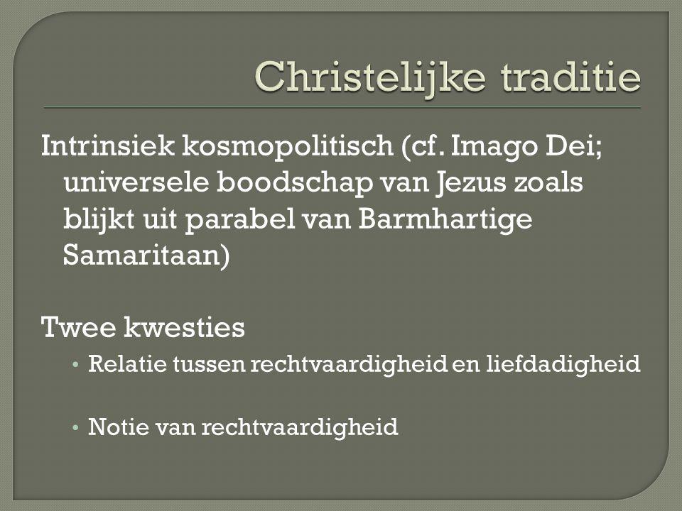 Intrinsiek kosmopolitisch (cf.