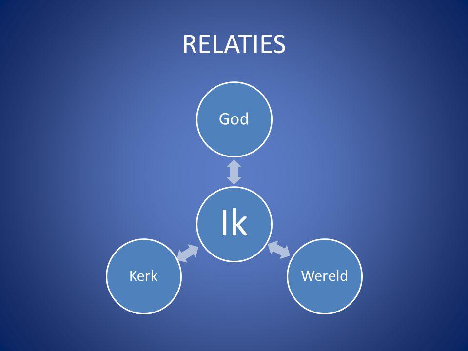 RELATIES Ik God WereldKerk