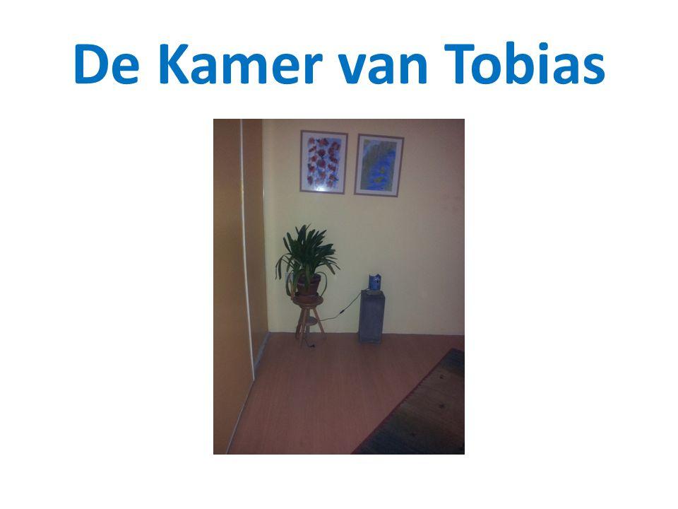 De kamer van Tobias is een lichte, vrolijke kamer…