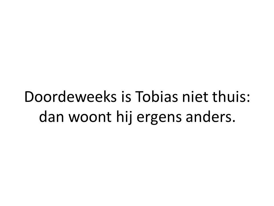 Tobias is namelijk ernstig gehandicapt…