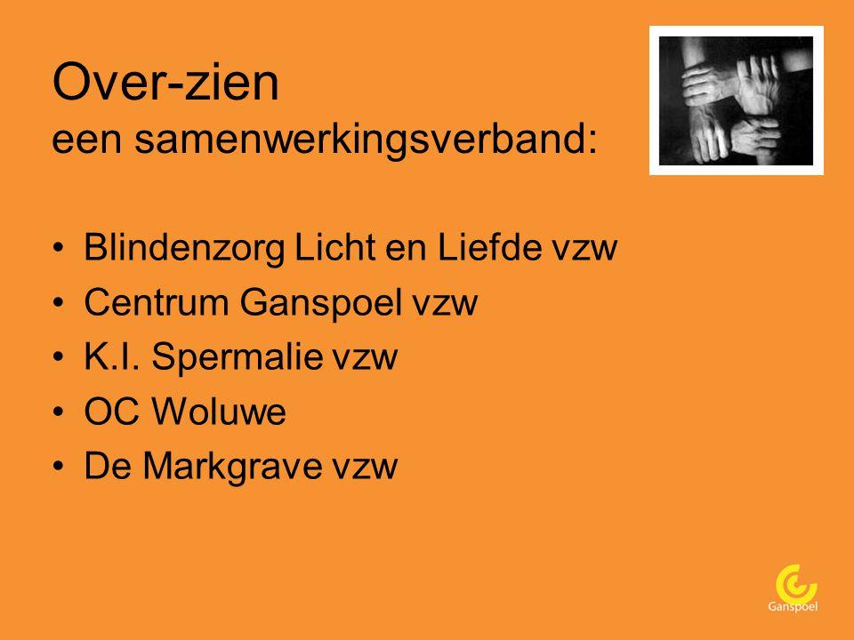 Over-zien een samenwerkingsverband: Blindenzorg Licht en Liefde vzw Centrum Ganspoel vzw K.I.