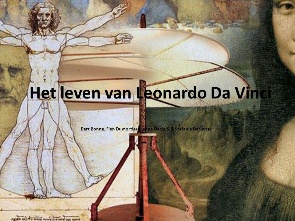 Jeugd Leonardo Di Ser Piero vader was notaris moeder boerin buitenechtelijk kind