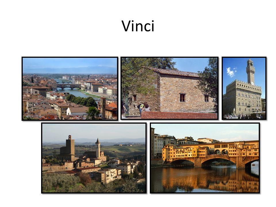 levensloop 15 april 1452 in Vinci (Anchiano) 1467 leerling bij Andrea del Verrocchio 1477 zelfstandig 1482 vertrokken naar Milaan 1500 werd militaire ingenieur 1513 vertrek Rome tot 1516 in dienst van Paus Leo X In 1516 in dienst van koning Frans de 1 e 1519 overleden