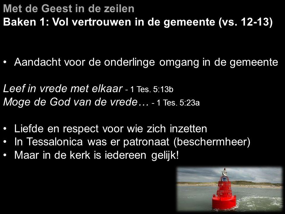 Met de Geest in de zeilen Baken 2: Oog en hart voor anderen (vs.