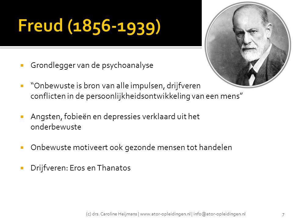 (c) drs. Caroline Heijmans | www.ator-opleidingen.nl | info@ator-opleidingen.nl18