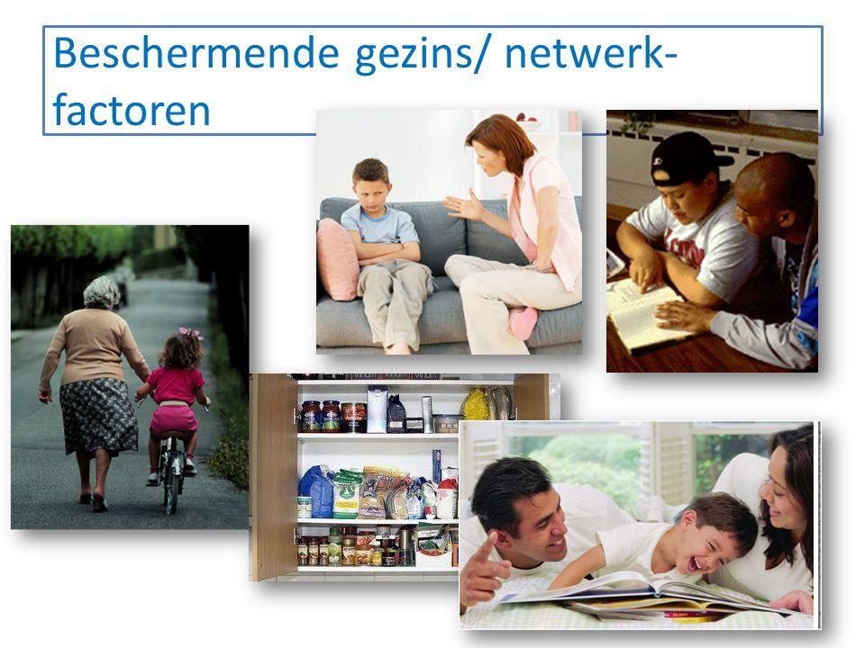 Beschermende gezins/ netwerk- factoren 26 Grenzen stellen
