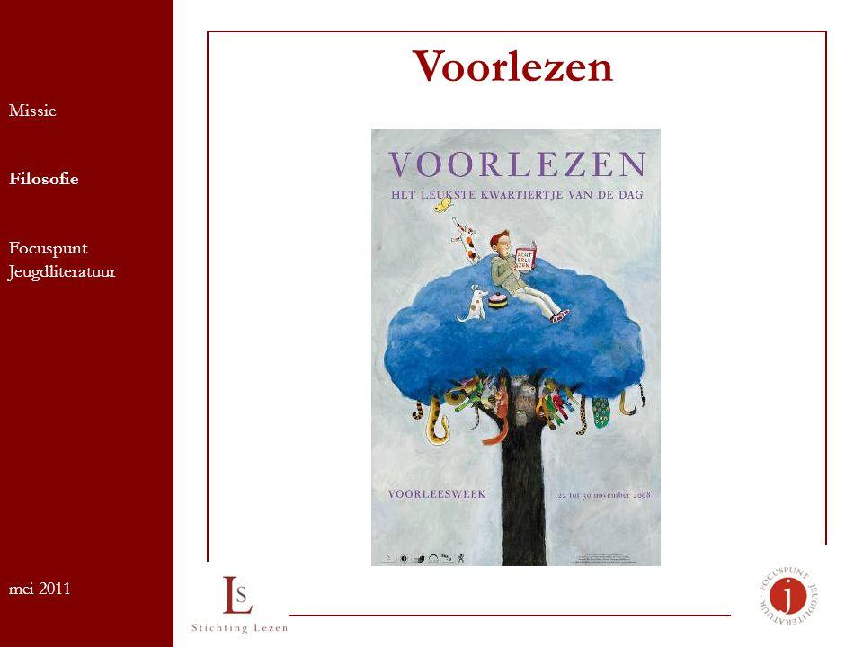 Voorlezen Missie Filosofie Focuspunt Jeugdliteratuur mei 2011