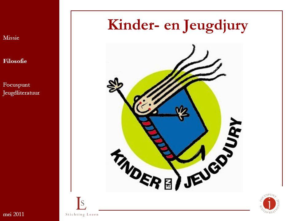 Kinder- en Jeugdjury Missie Filosofie Focuspunt Jeugdliteratuur mei 2011