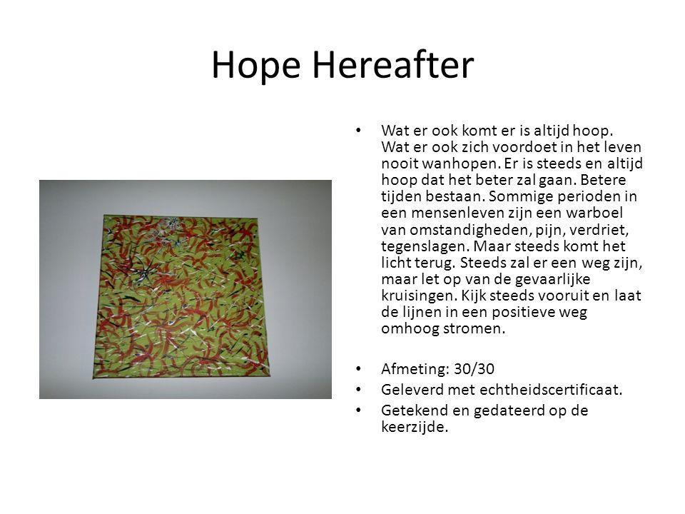 Hope Hereafter Wat er ook komt er is altijd hoop.