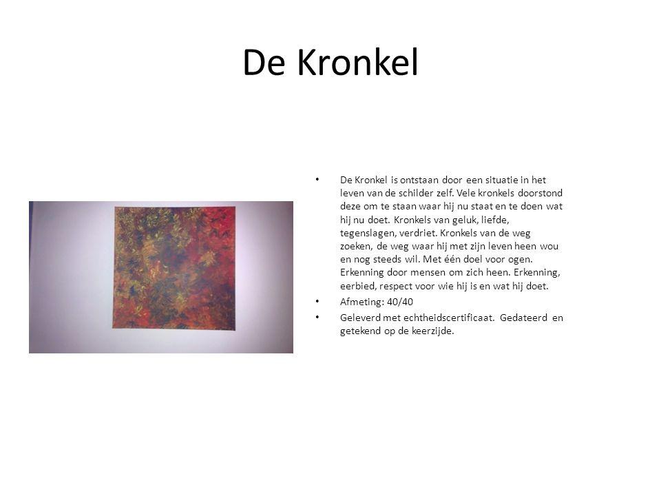 De Kronkel De Kronkel is ontstaan door een situatie in het leven van de schilder zelf.