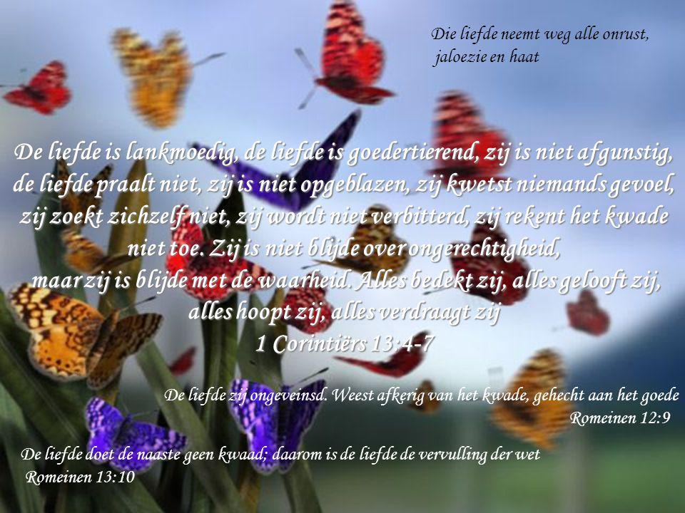Het enige dat God van je vraagt, Is om op je knieen te gaan en te aanvaarden dat Hij je leven leidt Als antwoord op die grote liefde kunnen wij Hem diep liefhebben door Zijn wil te doen Hieraan onderkennen wij, dat wij de kinderen Gods liefhebben, wanneer wij God liefhebben en zijn geboden doen 1Johannes 5:2 Want dit is de liefde Gods, dat wij zijn geboden bewaren 1Johannes 5:3