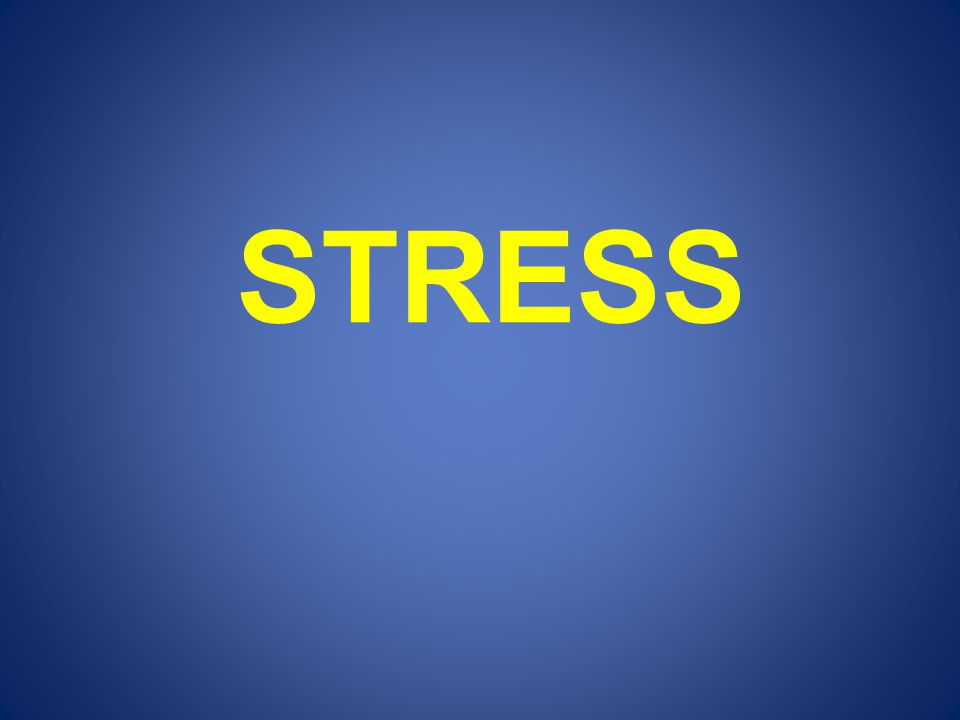 Bijbels omgaan met stress ?