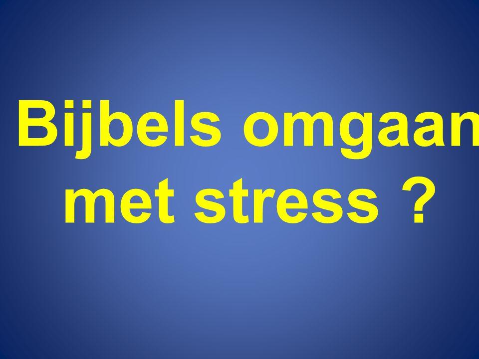 Wat is stress .