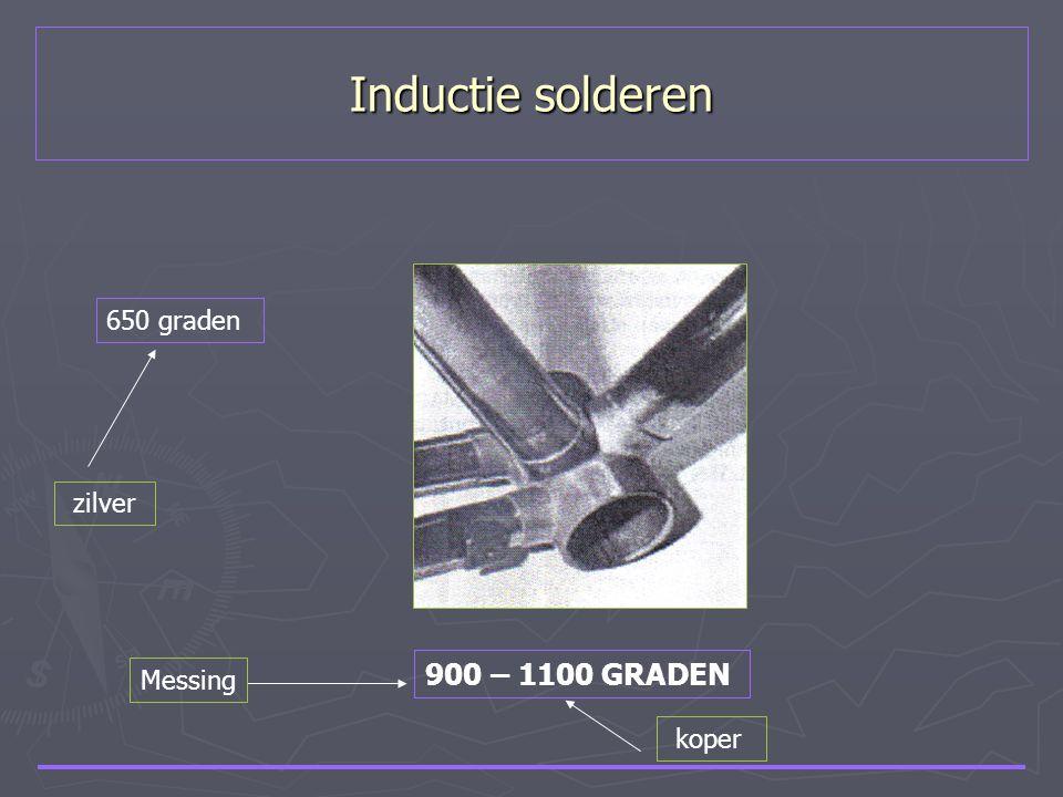 Inductie solderen 900 – 1100 GRADEN Messing koper 650 graden zilver