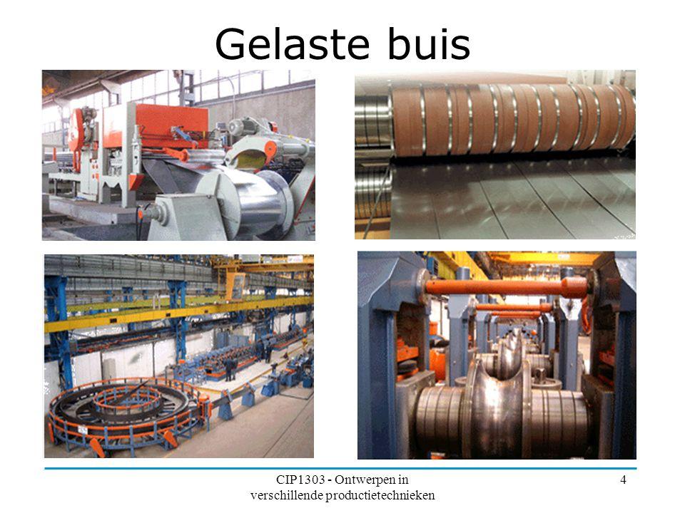 CIP1303 - Ontwerpen in verschillende productietechnieken 4 Gelaste buis