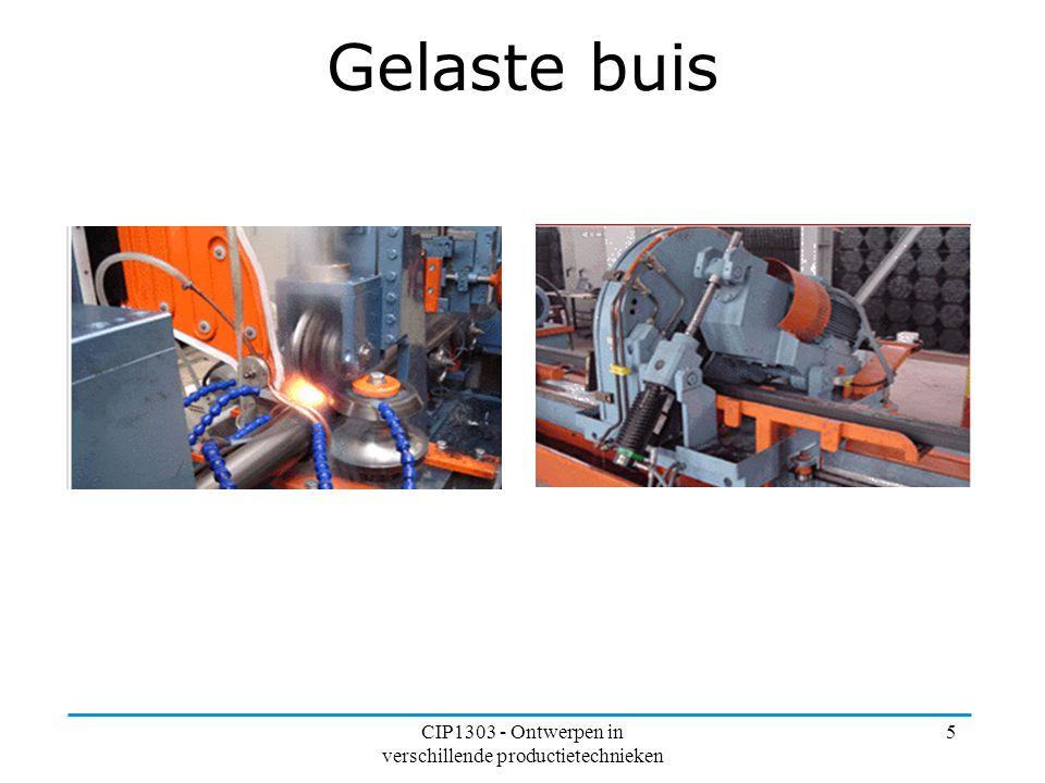 CIP1303 - Ontwerpen in verschillende productietechnieken 5 Gelaste buis