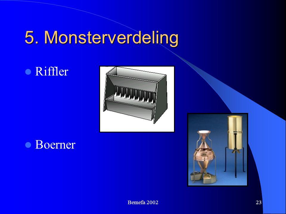 Bemefa 200223 5. Monsterverdeling Riffler Boerner