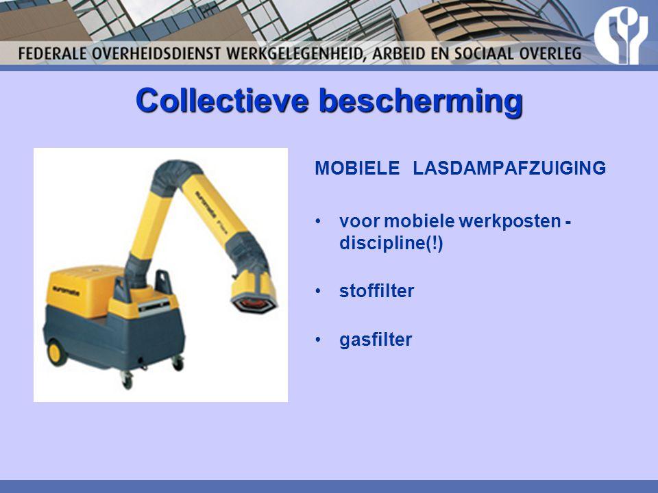 Collectieve bescherming MOBIELE LASDAMPAFZUIGING voor mobiele werkposten - discipline(!) stoffilter gasfilter