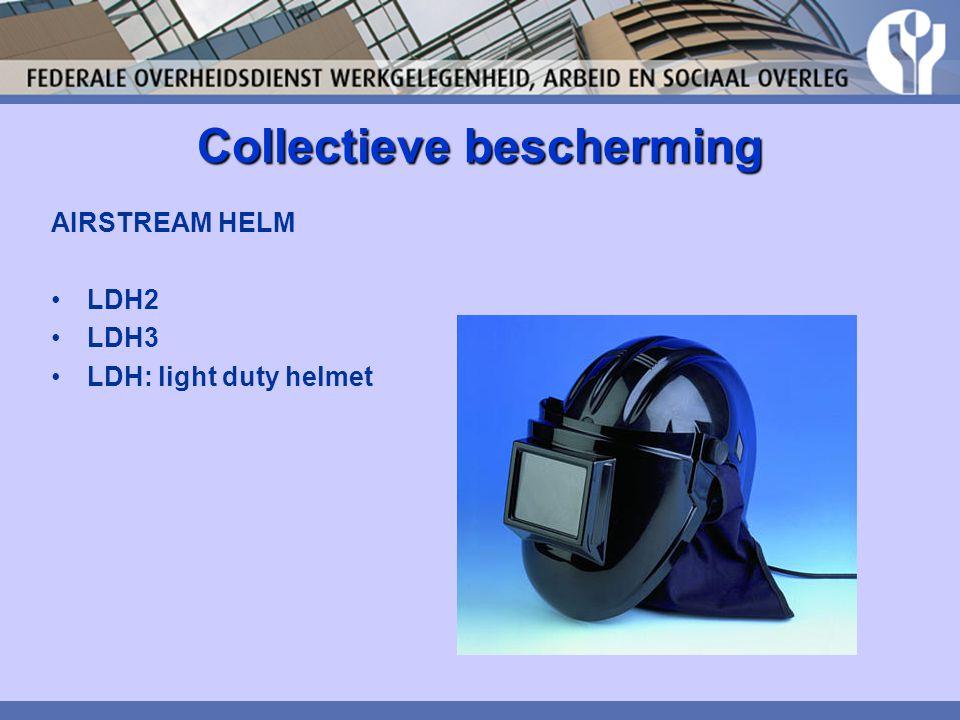 Collectieve bescherming AIRSTREAM HELM LDH2 LDH3 LDH: light duty helmet