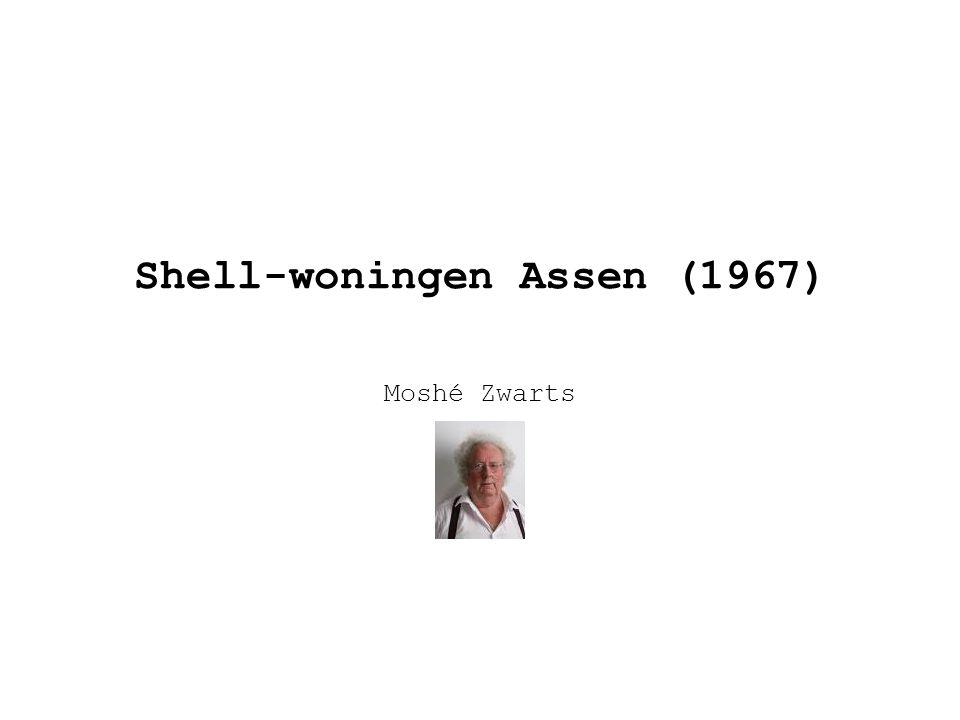 Shell-woningen Assen (1967) Moshé Zwarts