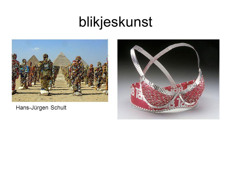 blikjeskunst Hans-Jürgen Schult