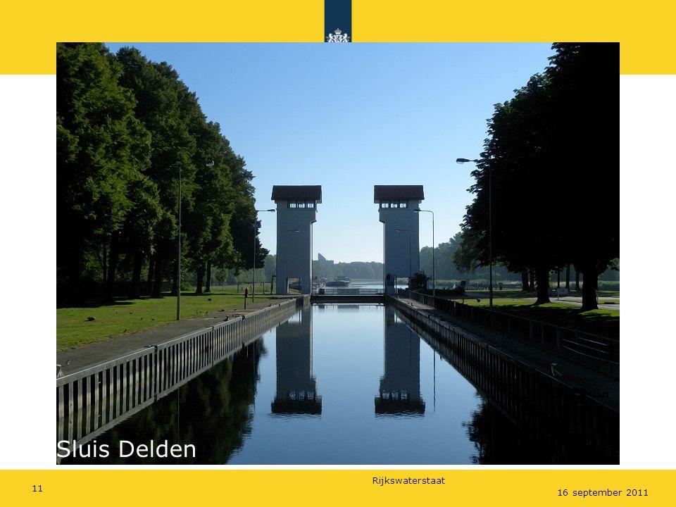 Rijkswaterstaat 16 september 2011 Sluis Delden 11