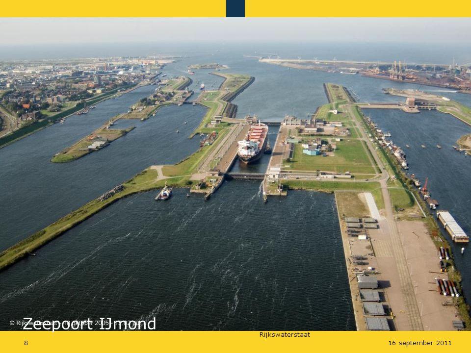 Rijkswaterstaat 816 september 2011 Zeepoort IJmond