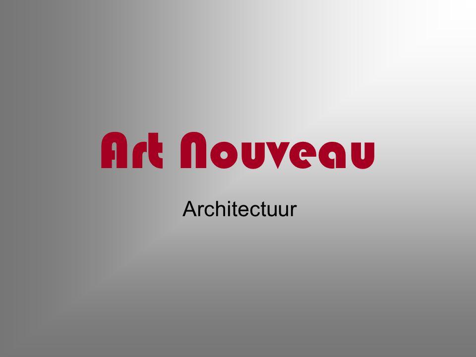 Art Nouveau Architectuur