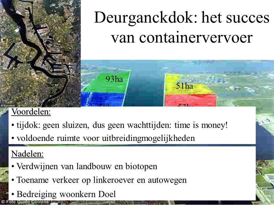 Bouw Deurganckdok Voor de kaaimuren was 1,2 miljoen m³ beton nodig.