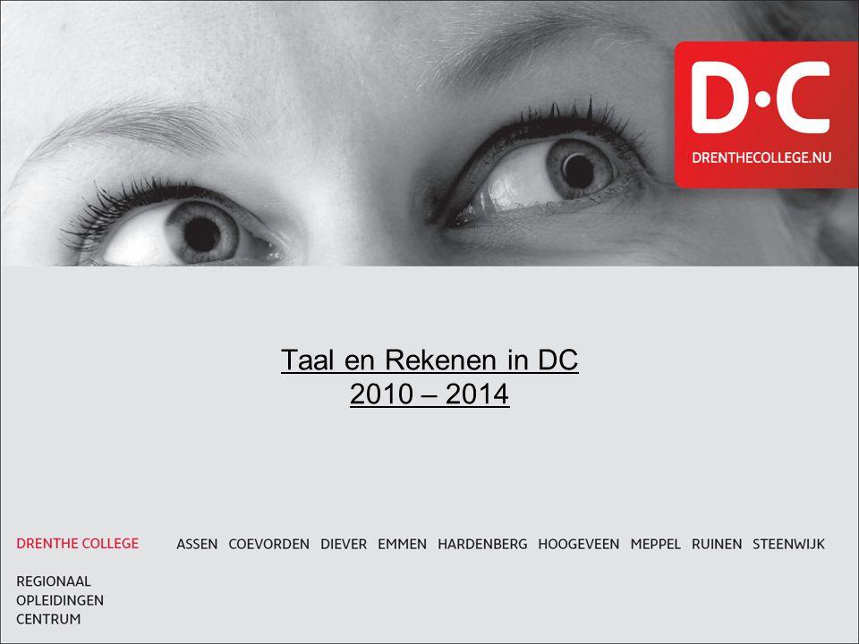 Taal en Rekenen in DC 2010 – 2014