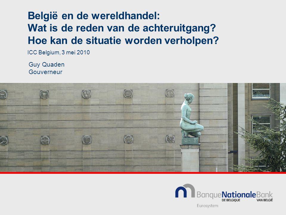 België en de wereldhandel: Wat is de reden van de achteruitgang.