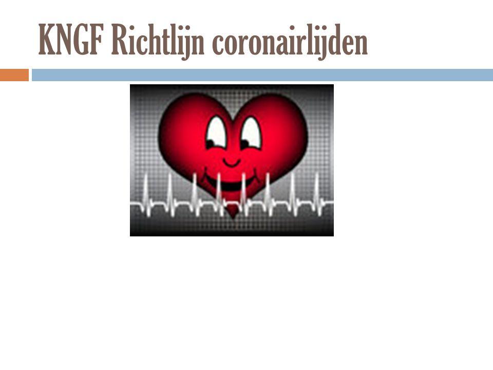 KNGF Richtlijn coronairlijden