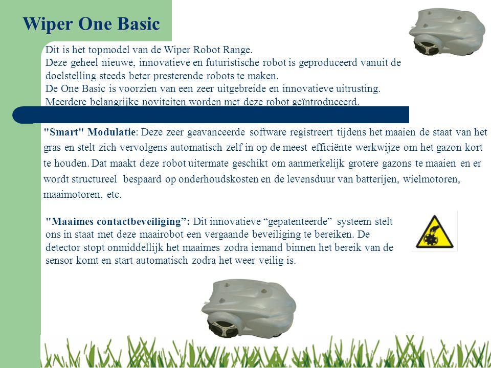 Smart Modulatie: Deze zeer geavanceerde software registreert tijdens het maaien de staat van het gras en stelt zich vervolgens automatisch zelf in op de meest efficiënte werkwijze om het gazon kort te houden.