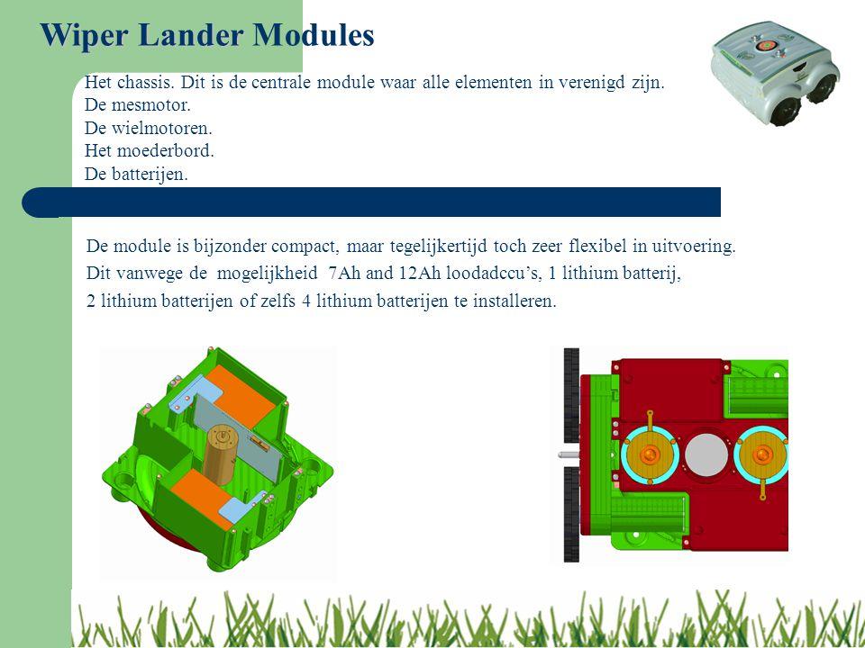 De module is bijzonder compact, maar tegelijkertijd toch zeer flexibel in uitvoering. Dit vanwege de mogelijkheid 7Ah and 12Ah loodadccu's, 1 lithium