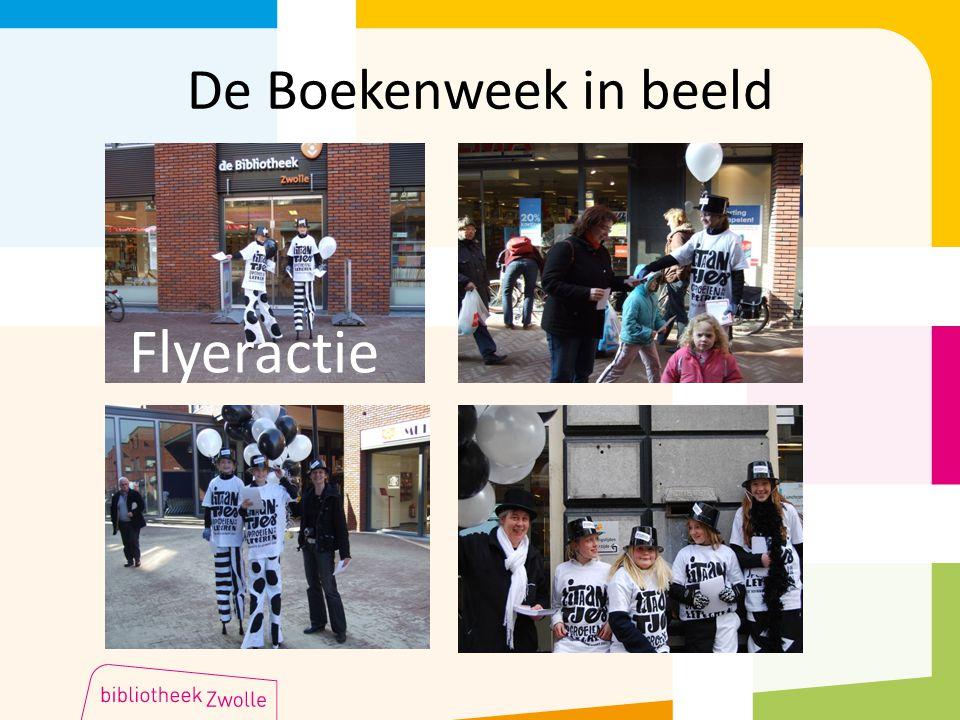 De Boekenweek in beeld Flyeractie
