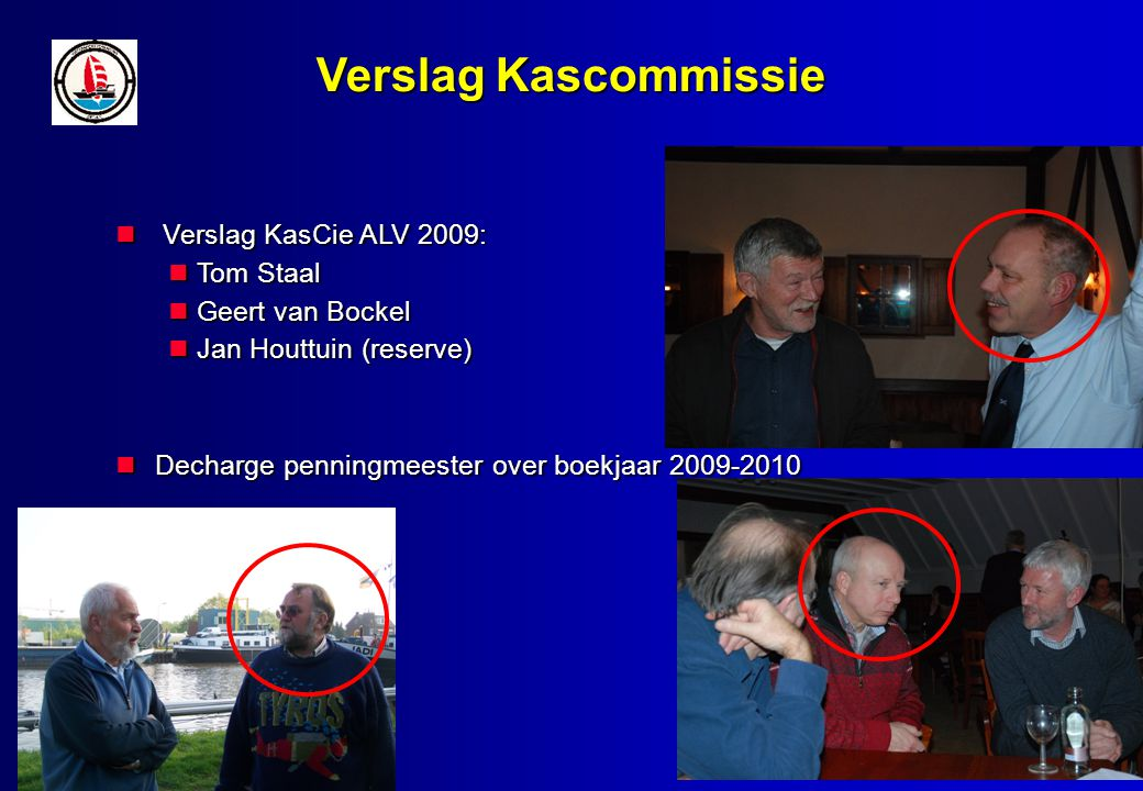 Verslag Kascommissie Verslag KasCie ALV 2009: Verslag KasCie ALV 2009: Tom Staal Tom Staal Geert van Bockel Geert van Bockel Jan Houttuin (reserve) Jan Houttuin (reserve) Decharge penningmeester over boekjaar 2009-2010 Decharge penningmeester over boekjaar 2009-2010